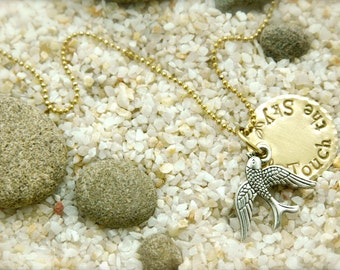 Bird Touch the Sky Necklace