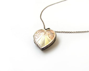 Vintage Sweetheart Locket c.1930s