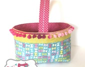 Sweetie Basket Sewing Tutorial - Perfect for Easter Egg or Halloween Candy Collecting