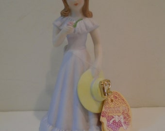 Enesco Growing Up Girl, Birthday, vintage, 12