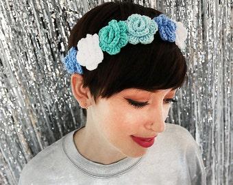 Bluebell Budding Flower Crown