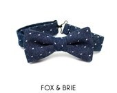Indigo Dot Kids Bow Tie