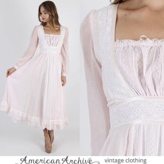 Gunne Sax Dress Jessica Mcclintock Dress Boho Wedding Dress