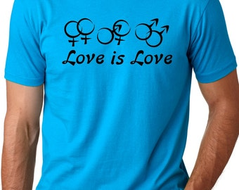 Love is Love  Equal rights, Equal love, Support Equality T-shirt gay marriage