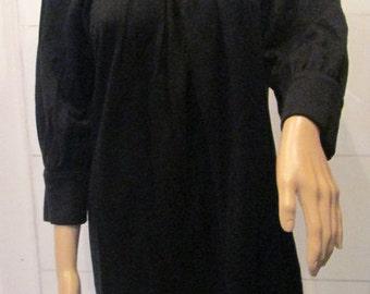 Vintage Party Dress. Very Unique Little Black Dress