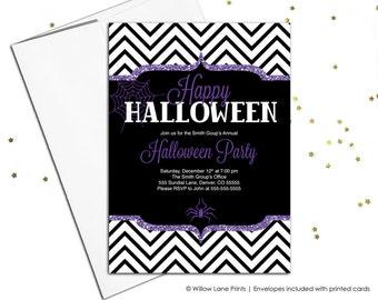 Printable Halloween Invitations   Halloween Party Invitations   Adult  Halloween Party   Halloween Wedding Invitations