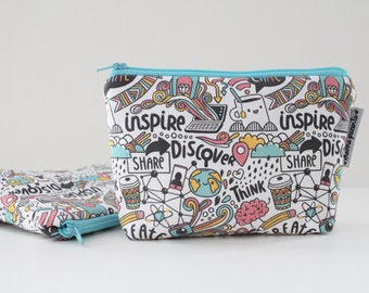 simple pouch -- create + inspire doodles