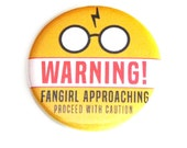Harry Potter Pinback Buttons Buttons Geeky Potterhead Fangirl Nerdy Apparel Accessories