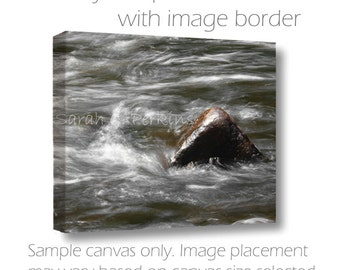 Water Photography-Nature-Adirondack Art-Fine Art Wall Canvas-Sizes Up to 24x36-Rapids-Masculine Wall Decor-Buttermilk Falls-Upstate New York
