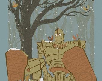 The Iron Giant alternative movie poster