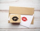 Lips Stamp, Kiss Lipstick Makeup