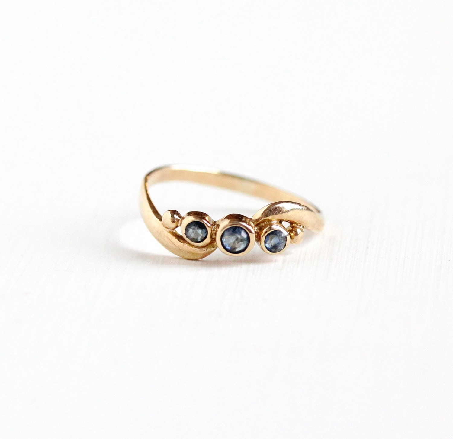 reserved sold to l resize to 5 3 4 vintage 10k gold
