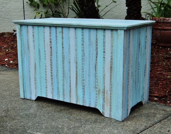 Storage Trunk Chest Bedroom Furniture Hope Chest Beach