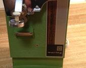 Waring Can Opener Avocado Green Knife Sharpener Retro 1970s Partridge Family Midcentury Modern Kitsch