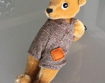 Teddy Bear/ Merrythought Bear/ Made in England /  Mohair Bear/Jointed Bear/ By Gatormom13