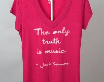 FREE US SHIPPING Women's Small: The Only Truth Is Music