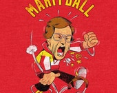 Martyball - vintage style 90's kc chiefs throwback