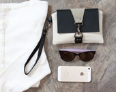 Small Clutch Bag - Women's Wristlet - Cell Phone Clutch - Cell Phone Wristlet - Cell Phone Bag - Khaki Cell Phone Clutch