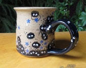 Soot Sprites - stoneware coffee cup