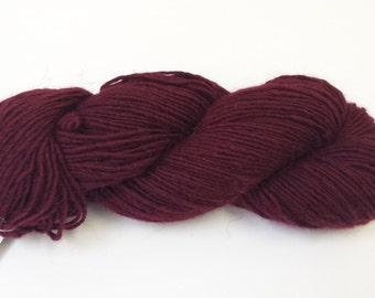 O-Wool Local, Juneberry, alpaca yarn.