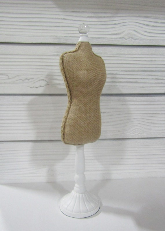 Linen Burlap Body Form