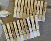 20 herb plant marker clips Garden Markers herb growing