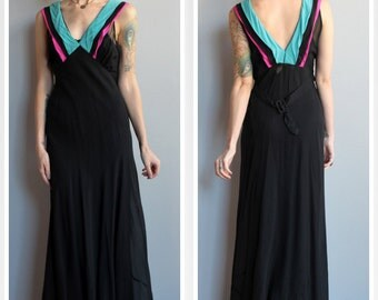 1930s Gown // Blind Love Gown // vintage 30s gown