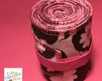 Free Shipping to the US** CrossFit Wrist Wraps - Poodles and Hearts Pink & Brown