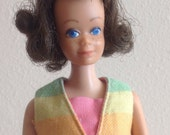 Pretty Brunette Midge Doll Wearing Fun and Games