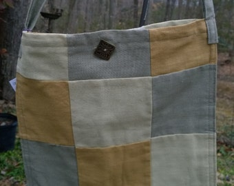 Hemp Patchwork Bag