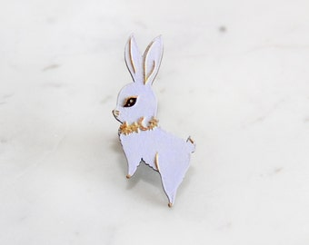Brooch : Reach for the Star (Lilac)