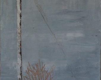 The Treasure Of Snow (original oil on canvas)