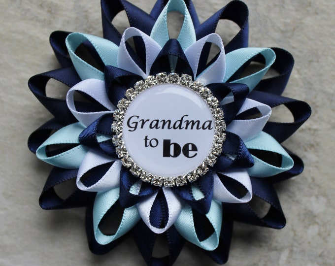 Boy Baby Shower Decorations, Baby Shower Pins, Grandma to be Gift, New Grandma Gift, Mimi, Mommy, Nana to be, Daddy, Big Sister, Papa