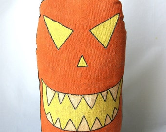 Pumpkin Punk Stump Art Doll - On Sale