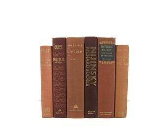 Brown Earth Tone Vintage   Books, Vintage Wedding Decor, Vintage  Photography Prop