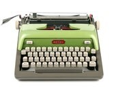 """RESERVED / RARE 1960 Royal Futura 800 Typewriter with """"Double Caps Italics"""" Typeface and """"Math Symbols,"""" Professionally Serviced"""