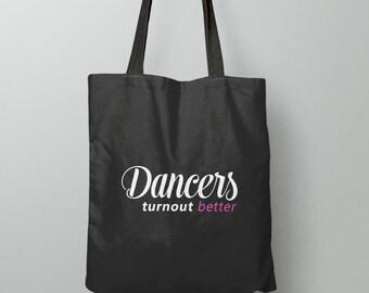 Dance Bag, Ballet Bag, Dance Gift for Dancer, Dance Tote Bag, Dance Teacher Gift, Ballet Dancer, Ballet Tote Bag, Ballerina Bag, Gift Idea