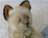 Real Soft Toys - Vintage Siamese Cat - 1970's Toy Kitten
