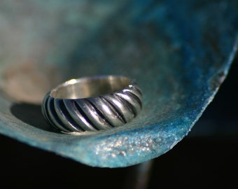 Sterling silver ring, Band, wedding band, Silver Ring, western ring, western jewelry