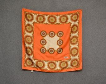 1960s Paoli Orange Scarf