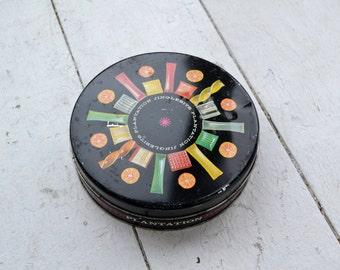 1960s Jinglebits Candy Tin