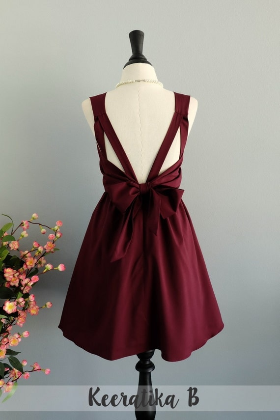 maroon dress red dress maroon party dress dark red prom dress. Black Bedroom Furniture Sets. Home Design Ideas