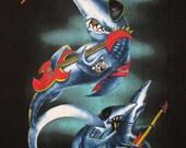 GREAT WHITE vintage 1989 tour T SHIRT mint