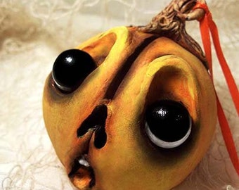 Halloween Pumpkin Ornament Jack-o-lantern - Halloween Decorations - Halloween Decor