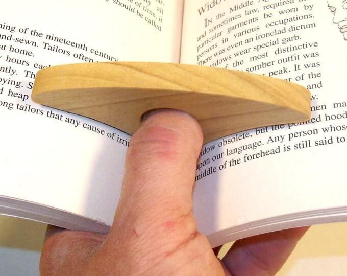 Thumb Book Holder, Thumb Ring Holder, Pastor Gift, Minister Gift, Reverend Gift, Gift For Readers, Book Lover Gift, Teachers Gift
