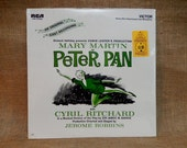 WALT DISNEY'S - Peter Pan - An Original Cast Recording - 1954 Vintage Vinyl Record
