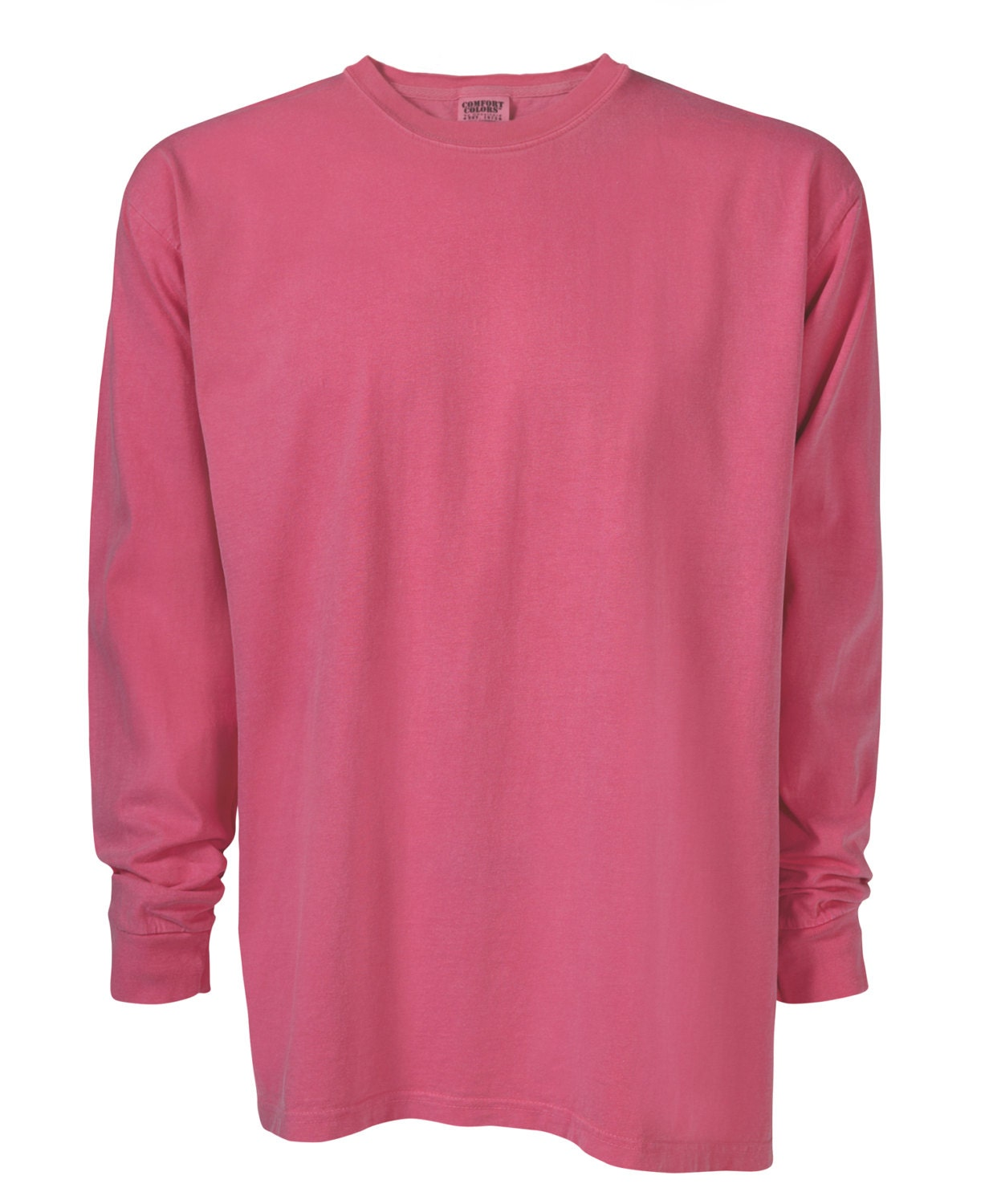 Blank Comfort Colors Long Sleeve T-Shirts Monogram by ...