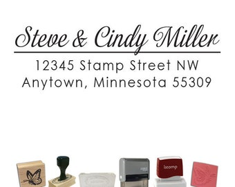 Custom Address Stamp - Return Address PR576