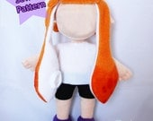 Instant Download Squid Friend Plushie Sewing Pattern