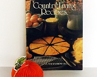 Vintage Cookbook Country Living Recipes 1984